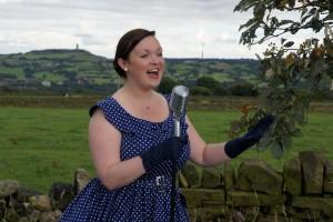 Vintage singer Yorkshire Huddersfield